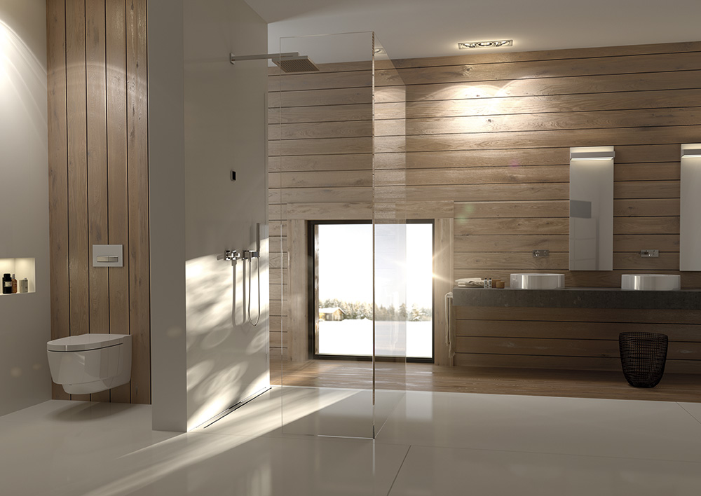 Geberit unelmien kylpyhuone